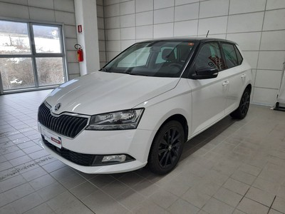 Skoda Fabia 1.0 mpi twin color nero 75cv my19