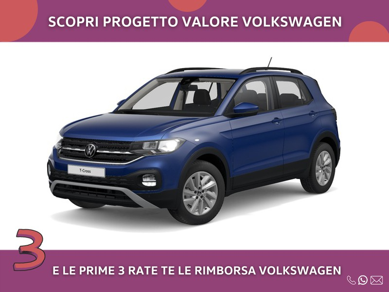 Volkswagen T-Cross 1.0 tsi style 95cv