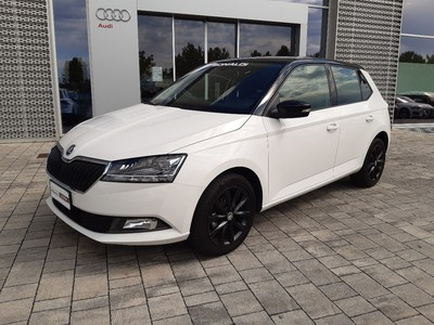 Skoda Fabia 1.0 tsi Twin Color Nero 95cv my19