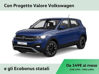 Volkswagen T-Cross 1.0 tsi urban 95cv