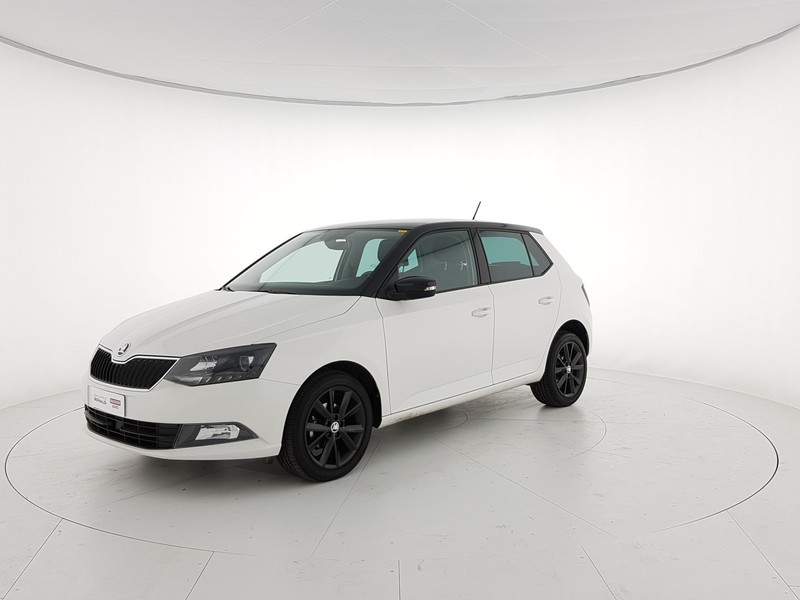 Skoda Fabia 1.4 tdi Twin Color Design Edition Nero 75cv