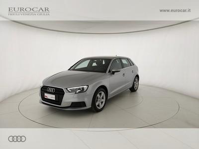 Audi A3 Sportback 30 1.0 tfsi Business 116cv s-tronic my19